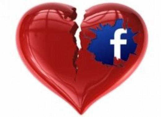 facebook broken heart