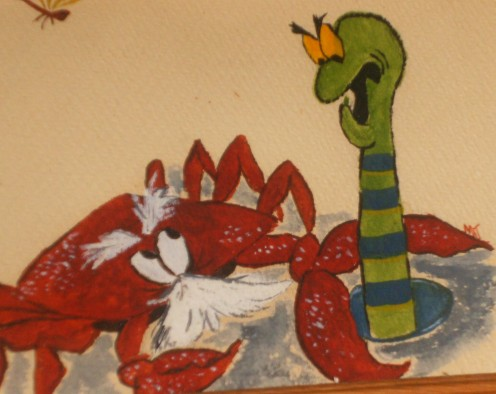 my drawing back in 1960's in watercolors