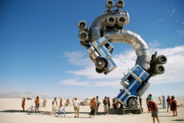The Burning Man Is An Art Festival Celebrated For It Inclusion Of Interesting Artwork