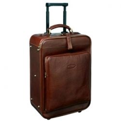Brown Wheeled Luggage