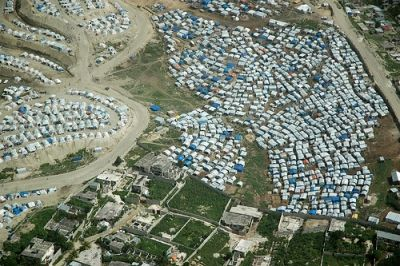Tent Camp in Port-au-Prince, Haiti