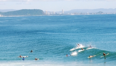 Rainbow Bay, Queensland - Alan's surfing playground