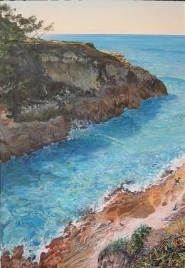 Dennis Brockie - Winner of d'Arcy Doyle Landscape Prize 2006
