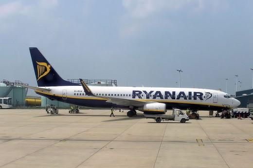 Ryanair aircraft public domain