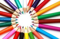 color pencils public domain