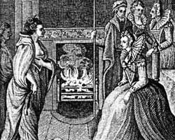 Grace O'Malley and Elisabeth I public domain - copyright expired