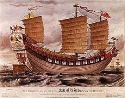 chinese junk public domain: copyright expired
