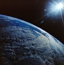 earth from space public domain by nasa