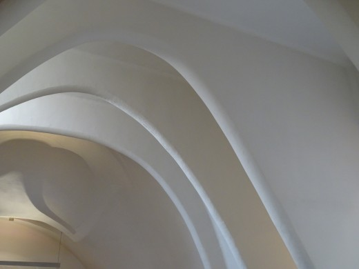 Gaudi was famous for his parabolic arches