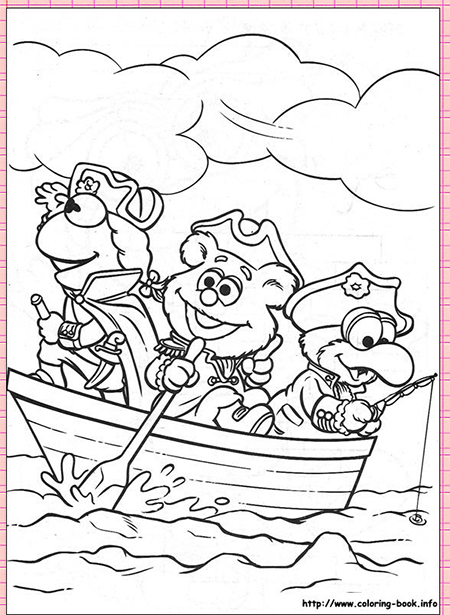 HEAPS OF ADORABLE FREE MUPPET BABIES COLORING PAGES