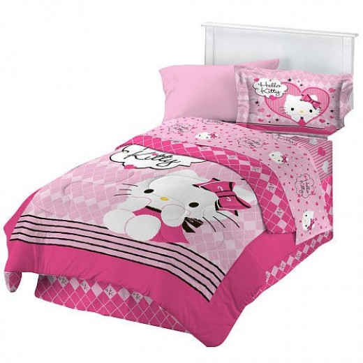 beautiful hello kitty bedroom d cor ideas for a girl
