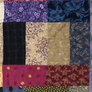 Dark Tatami Mat block