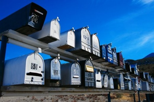 Countryside letterboxes
