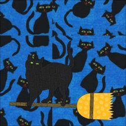 Black cat block
