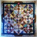 Better patchwork quilt (or other crafts) photos