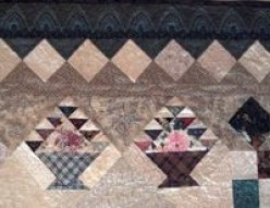 More Triangles in Quilts: On-Point Sets