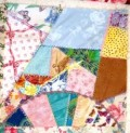 Crazy quilting: it's freedom!