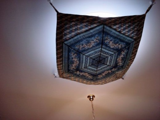 Quilt over skylight