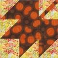 Autumn Decorating Alternatives: Bright Quilt Designs