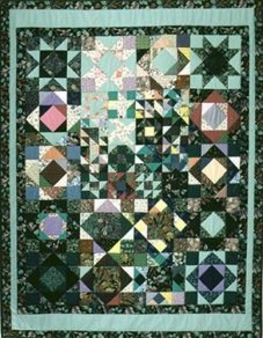 Carol's Listen With Your Eyes quilt