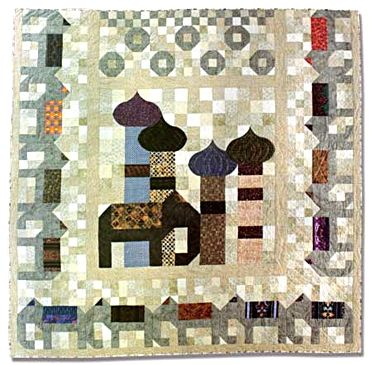 Baby Elephant Walk quilt by Jan T Urquhart Baillie