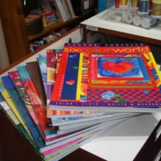 In my studio: The 10 books I will tell you about