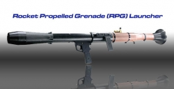 Replica RPG-7 Rocket Launcher