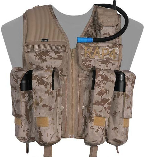 Strikeforce paintball vest
