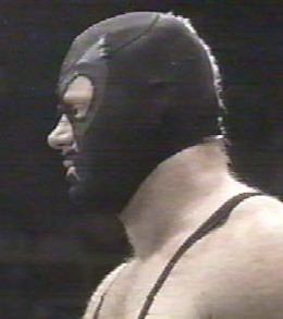 Undertaker In A Mask From Younger Days
