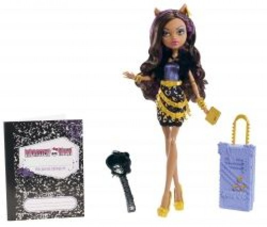 Monster High Travel Scaris Clawdeen Wolf Doll