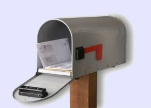 Mail Chime - Wireless Mail Alert System on a rural mailbox