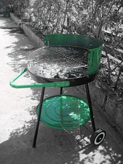 Outdoor Charcoal Grill (Photo courtesy by yarigee from Flickr)