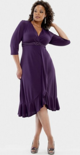 Extended plus size mother of the bride dresses