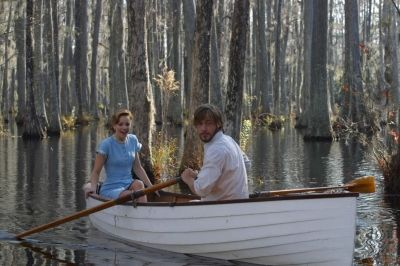 Ryan Gosling as Noah Calhoun & Rachel McAdams as Allie Hamilton (in the the The Notebook film)