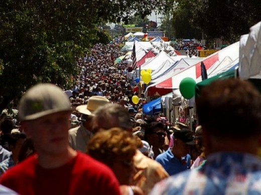 """The Annual Fallbrook Avocado Festival held in Fallbrook, California, claims the title of """"Avocado Capital of the World."""""""