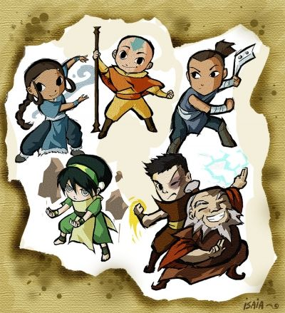 The Avatar: Six Airbenders