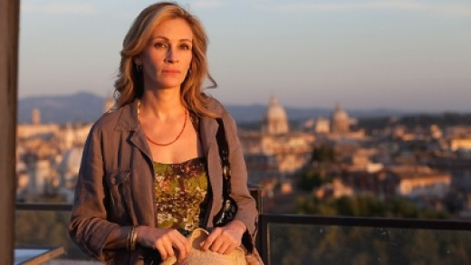 Julia Roberts as Liz as she travels in the fascinating land of India.