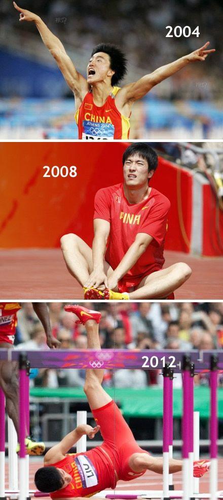 iPhone is like liu xiang