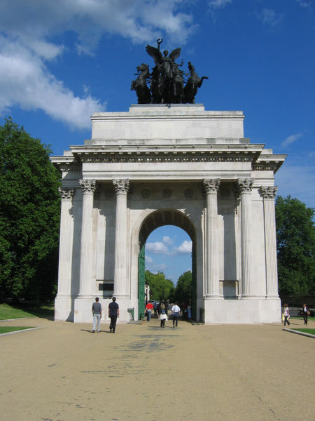 The Wellington Arch, Hyde Park Corner