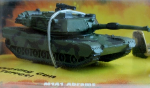 M1A1 Abrams main battle tank. From 97' Micro Machines #5 Meerkat Marauders set.