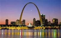 Here is the St Louis Arch