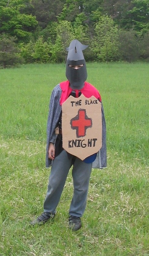 The Black Knight - homemade costume