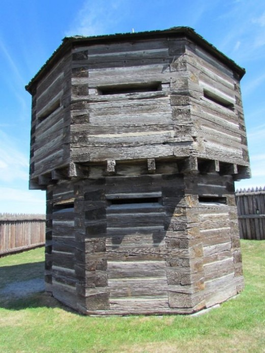 Octagonal Blockhouse - artillery storehouse and lookout point