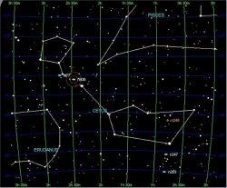 Cetus constellation