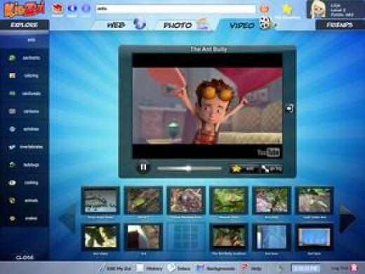 KidZui Kids Browser
