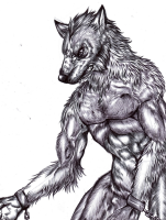 Highly detailed lycan