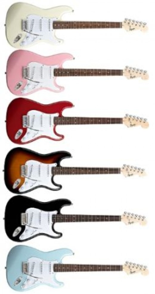 Squier Bullet Stratocaster S/S/S