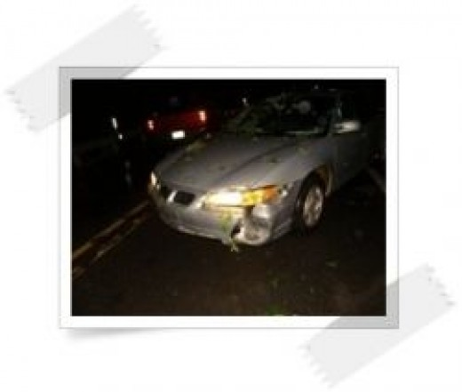 My poor car.