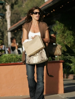 Snakeskin handbags with celebrities