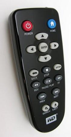 WD TV HD - Remote